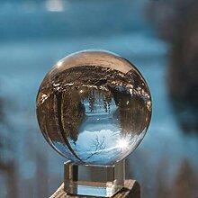 IZSUZEE K9 Boule de Cristal 80mm avec Embase de