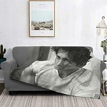 Jake Gyllenhaal – couverture de lit à carreaux,