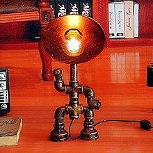 JAOSY Pipe à eau lampe de table industrielle loft
