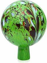 Jardin décoratif boule en verre soufflé et