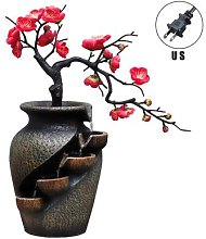 Jardin Simulation plante Vase artisanat résine