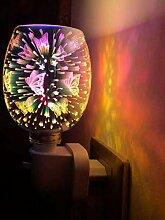 JATELLO Lampe à huile d'aromathérapie, prise