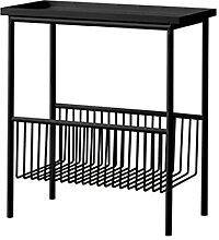 Jcnfa-Tables Porte-revues en métal,Palette