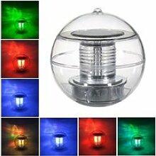 JCU® LED Solaire de Piscine lampe flottant