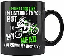 Je conduis ma Dirt Bike Motocross Tasse à café