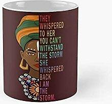 Je suis la tempête forte femme africaine - Black