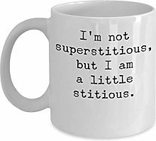 Je suis un peu stitious By Trinkets & Novelty The
