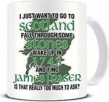 Je veux me réveiller en 1743 et trouver James