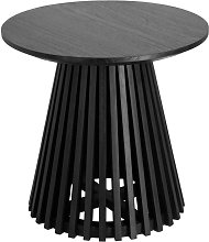 Jeanette - Table d'appoint ronde teck ø50cm -