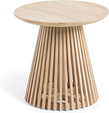 Jeanette - Table d'appoint ronde teck ø50cm