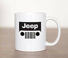 Jeep JK Grill - Mug à café personnalisé -