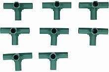 Jeffergarden 8 Pièces Connecteur d'angle