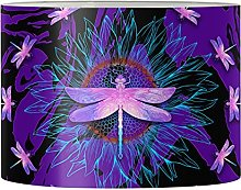 Jeiento Abat-jour en forme de libellule pour lampe
