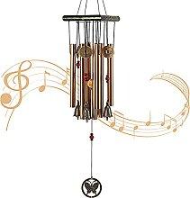 JelyArt Carillon à vent pour jardin, extérieur,