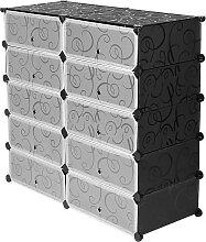 Jeobest - 10-Cube de Rangement Organiseur en