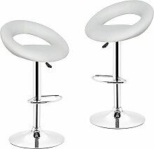 JEOBEST®2*Tabourets de Bar chaise fauteuil de bar
