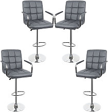 Jeobest - 4 tabourets de bar SET chaise de bar