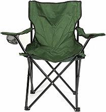 Jeobest - Chaise Jardin Pliante Camping