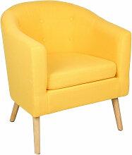 Jeobest - Fauteuil scandinave Chaise de canapé en