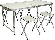 Jeobest - Table de Camping Réglage hauteur 4