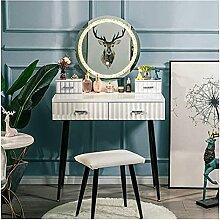 Jeu de table vanity Table de vanité Ensemble avec
