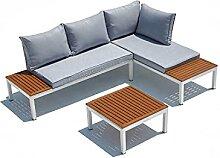 JFB Le Nice : Salon de Jardin Aluminium et Acier 4