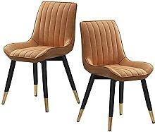 JFIA65A Moderne Chaise Salle Manger Cuir Vintage