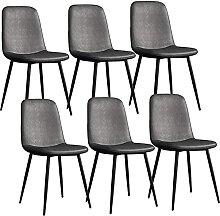 JFIA65A Moderne Chaises de Salle à Manger Lot 6
