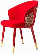 JFIA65A Moderne Chaises de Salon Velours Doux