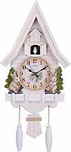 JFJL Pendule À Coucou Horloge Traditionnelle De