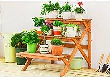 JHhuajia Etagère à Fleurs Escalier pour Plantes