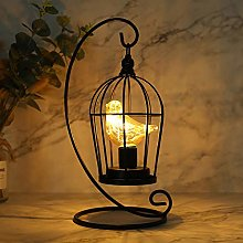 JHY DESIGN Ampoule de cage à oiseaux Lampe