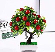 jiabushu shop Fleurs artificielles, mini arbre