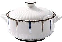 JIAChaoYi Bols Bol à Soupe en céramique