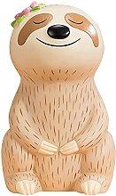 JIAChaoYi Tirelire Cartoon Sloth Animal Crafts