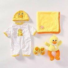 JIACUO Reborn bébé Jouet vêtements Tenue
