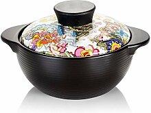 JiangKui Pot à Soupe Casserole Casserole Marmite