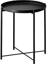 JIANMIN Chaise de bureau avec pieds et table basse
