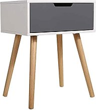 JIANMIN Chaise de bureau pieds rétro blanc table