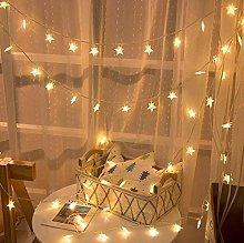 JIANMIN Guirlande lumineuse étoile 3 m 20 LED à