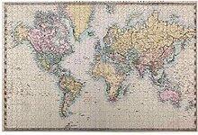 Jigsaw Puzzles 1000 pièces,carte du monde
