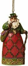 Jim Shore 4022939 Suspension Père Noël Irlandais