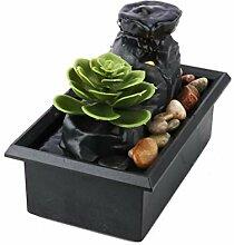 Jingtaihua Fontaine à eau de table avec