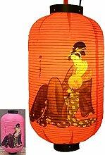 Jingyun Lanterne Suspendue de Style Japonais