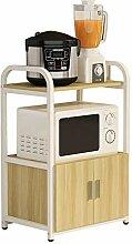 JINKEBIN Étagère de comptoir de cuisine en bois