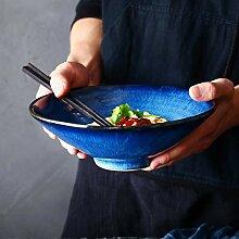 JINKEBIN Grand bol japonais en céramique