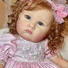 JinYiZhaoMing 1 poupée Reborn de 60 cm, 1400 g,