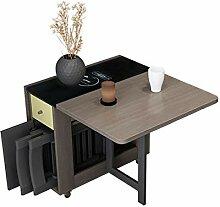 JISHIYU - Q 1,5 m 2 chaises pliantes Table de