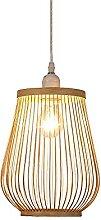 JISHUBO Lampe À Suspension Rétro En Bambou,