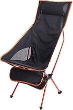JJYGONG Chaise de Camping Chaise de Camping